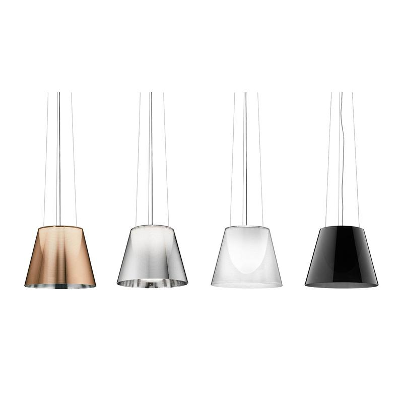 Flos ktribe s3 philippe starck lampada a sospensione for Flos lampade a sospensione