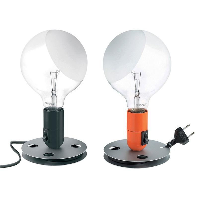 Flos lampadina achille castiglioni lampada da tavolo for Lampada da tavolo design flos