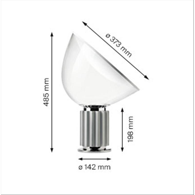 Flos Taccia Small Lampada Da Tavolo Ebay