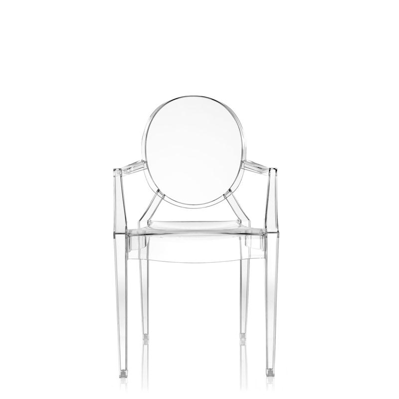 Details about Kartell - SEDIA LOUIS GHOST - CRISTALLO