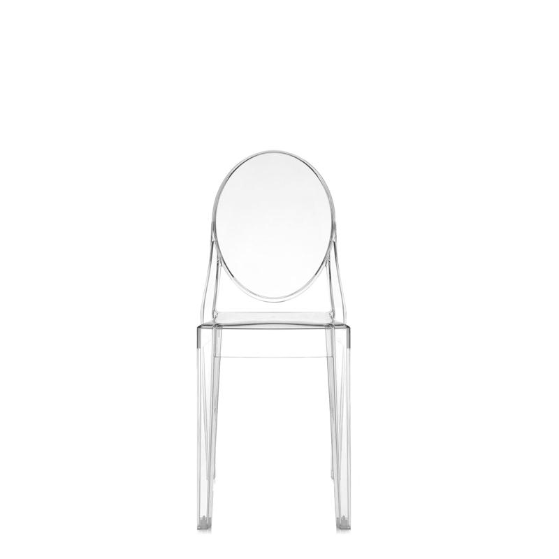 Details about Kartell - SEDIA VICTORIA GHOST - CRISTALLO
