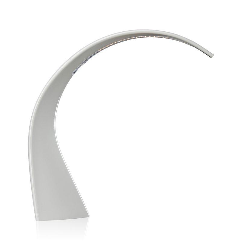 Kartell Taj Mini Colore Bianco Lampada Da Tavolo Ebay