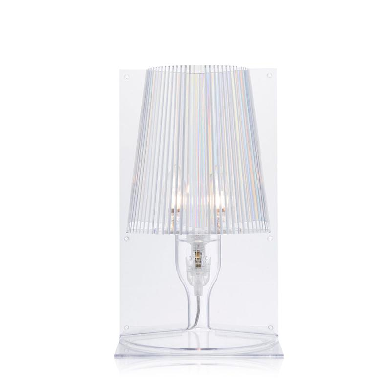 Details about Kartell-take Color Crystal-Table Lamp- show original title