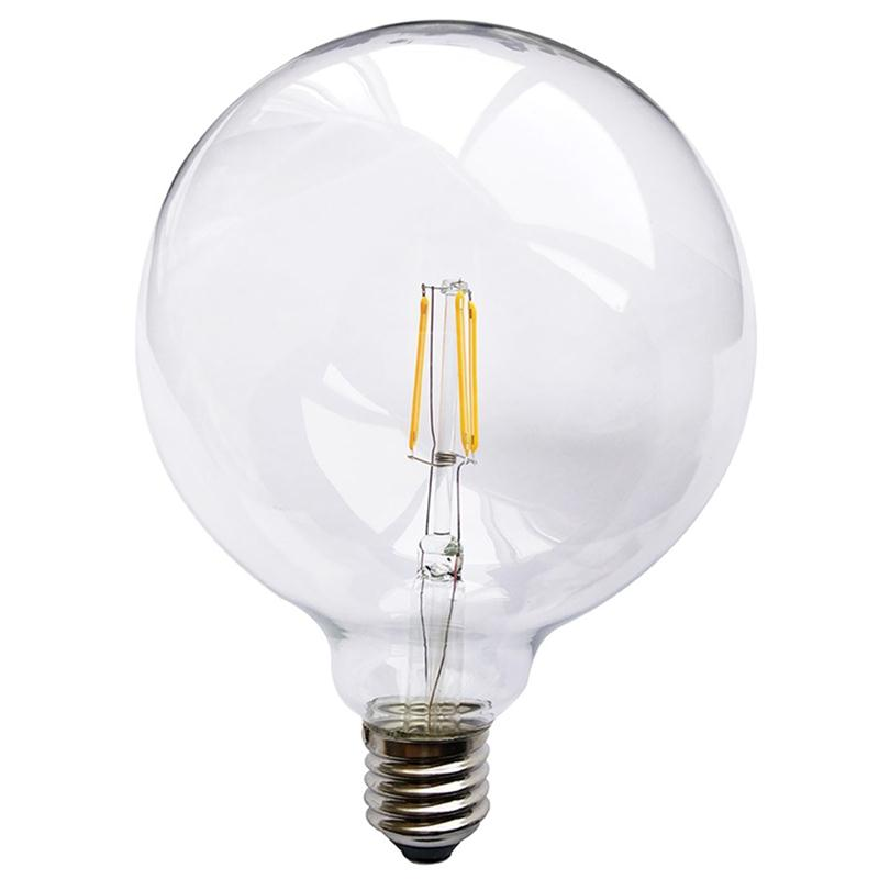 Lampadina globo led dimmerabile 3w e27 per lampada for Lampadina e 27