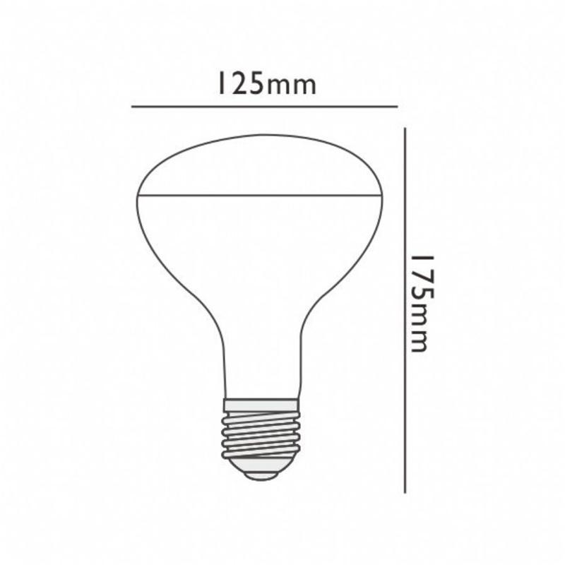 LAMPADINA LED R125 DIMMERABILE 7W   PER LAMPADA PARENTESI E LUMINATOR FLOS   eBay -> Lampada Flos Led